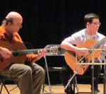 Marc Bélanger, Guitar Teacher, with William Tremblay