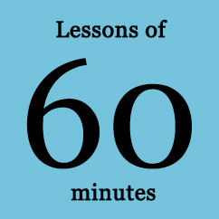 Private Lessons of 60 minutes